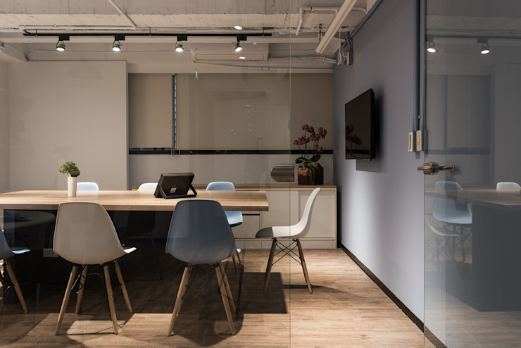 科技辦公室 根據 森參設計 北歐風