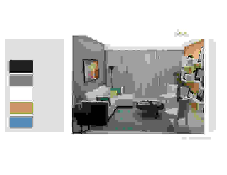 Sala Salas de estilo moderno de MAS ARQUITECTURA1 - Arq. Marynes Salas Moderno