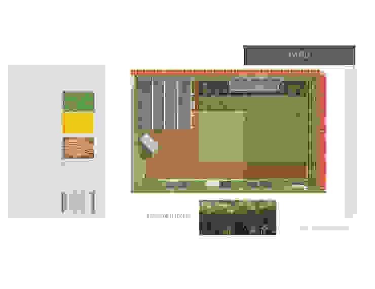 Jardin MAS ARQUITECTURA1 - Arq. Marynes Salas Jardines de estilo moderno