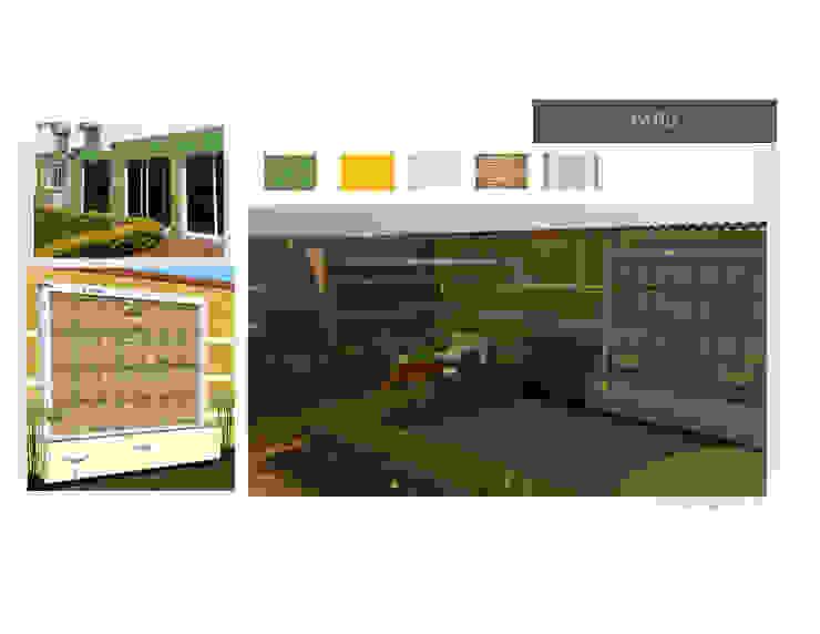 Jardin o Patio MAS ARQUITECTURA1 - Arq. Marynes Salas Jardines de estilo moderno