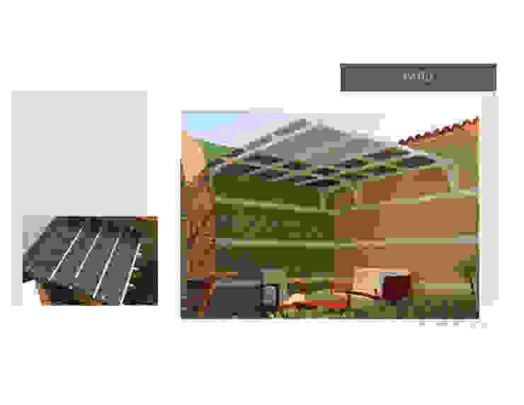 Diseño de pergola Jardines de estilo moderno de MAS ARQUITECTURA1 - Arq. Marynes Salas Moderno