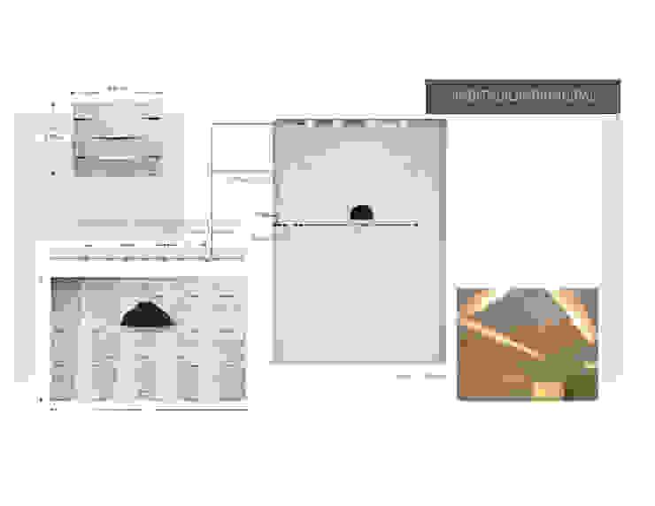 Iluminacion de Hab. Principal MAS ARQUITECTURA1 - Arq. Marynes Salas Cuartos de estilo moderno