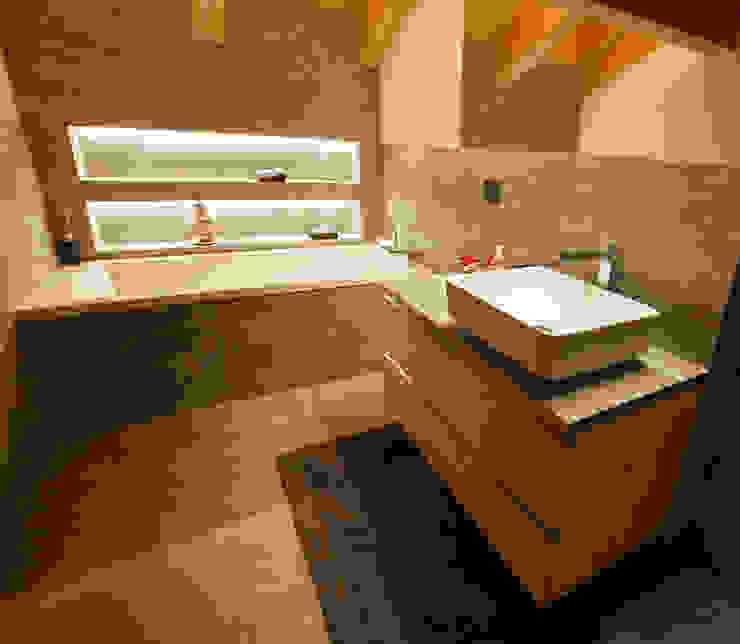 BEARprogetti - Architetto Enrico Bellotti Ванная комната в стиле модерн