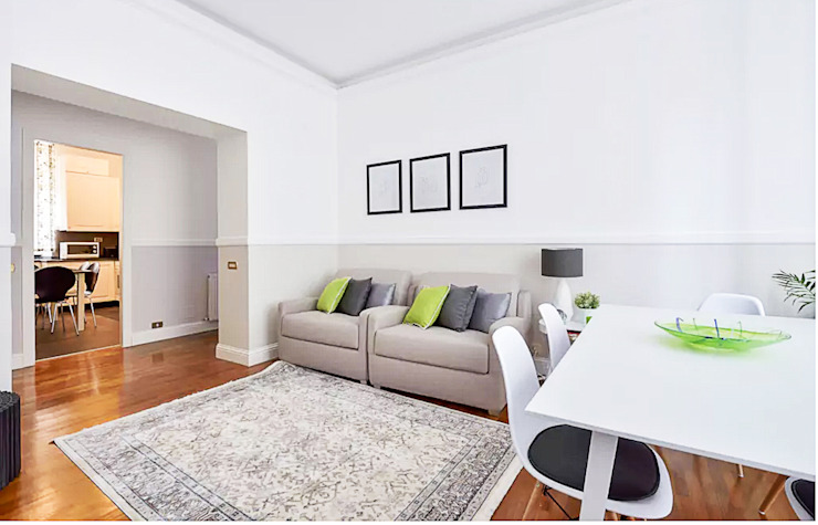 Scandinavische woonkamers van 07am architetti Scandinavisch