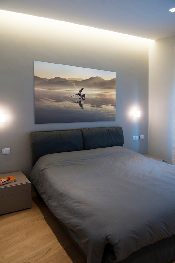 FLAT SC Modern style bedroom by 07am architetti Modern