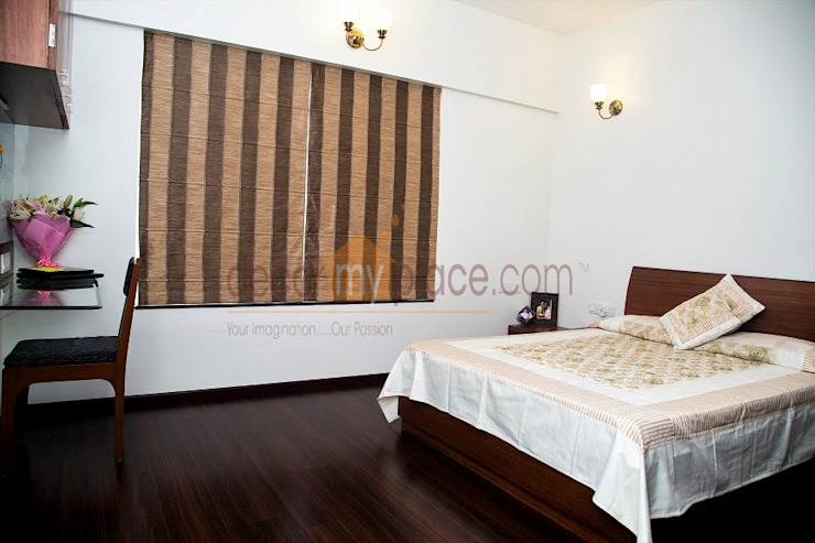 KOLTE PATIL 24 K PUNE decormyplace Modern style bedroom