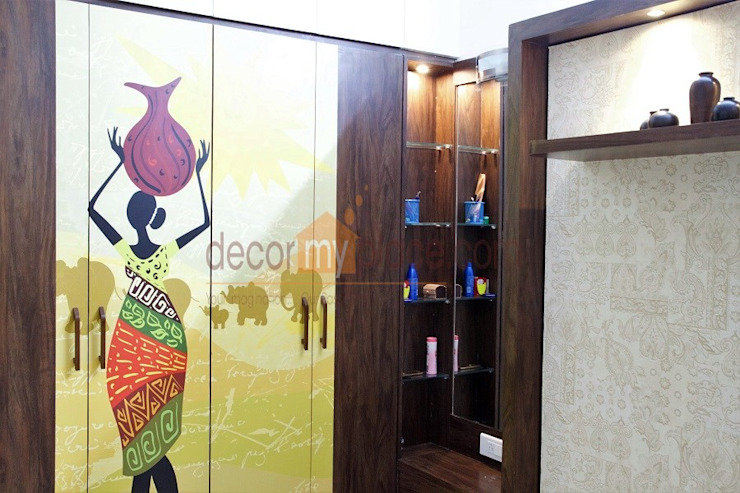 digital laminates decormyplace Modern style bedroom