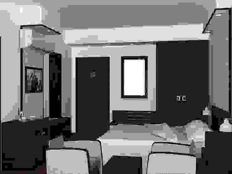 Bedroom Interior: modern  by Shitiz architects,Modern Wood Wood effect