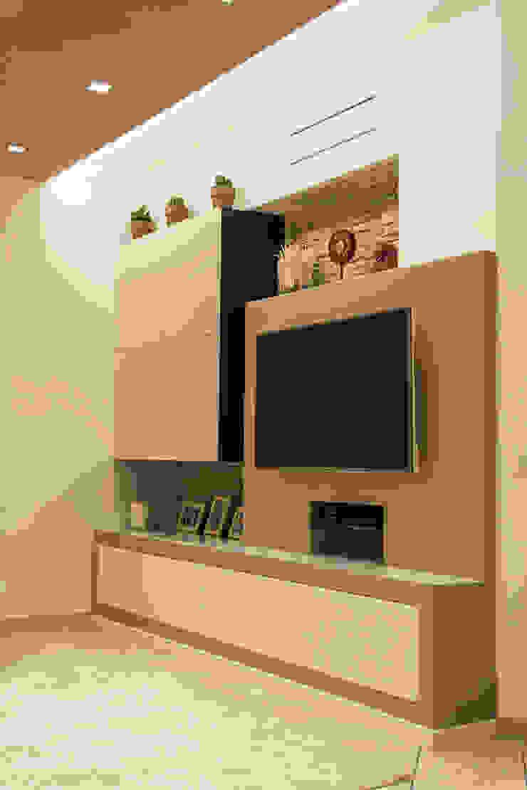 Architettura & Interior Design 'Officina Archetipo' Ruang Media Minimalis