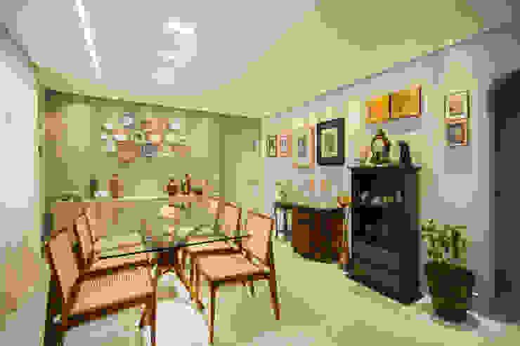 Comedores de estilo ecléctico de Natália Parreira Design de Interiores e Paisagismo Ecléctico