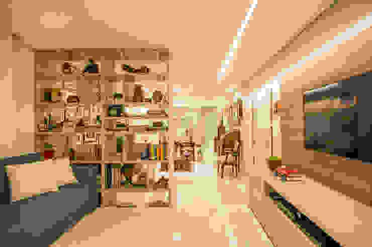 Livings de estilo ecléctico de Natália Parreira Design de Interiores e Paisagismo Ecléctico