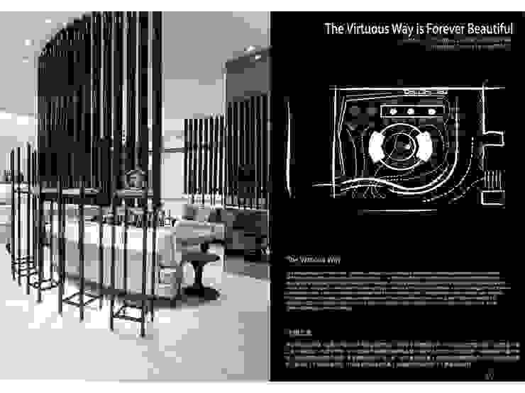 大道恆美 The Virtuous Way is Forever Beautifu l- 京悅設計 京悅室內裝修設計工程(有)公司 真水空間建築設計居研所 辦公大樓 金屬 Black
