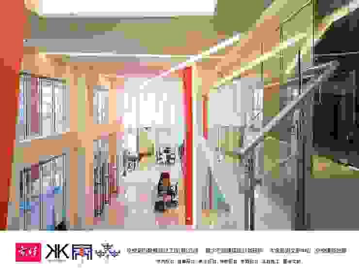 京悅設計 - 立督科技集團總部 再造 Reengineering 根據 京悅室內裝修設計工程(有)公司|真水空間建築設計居研所 簡約風 鋁箔/鋅