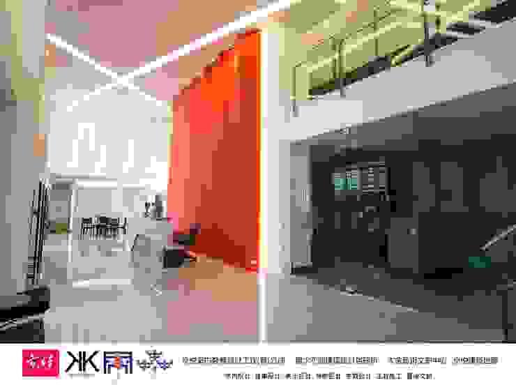京悅設計 - 立督科技集團總部 再造 Reengineering 根據 京悅室內裝修設計工程(有)公司|真水空間建築設計居研所 簡約風 銀/金