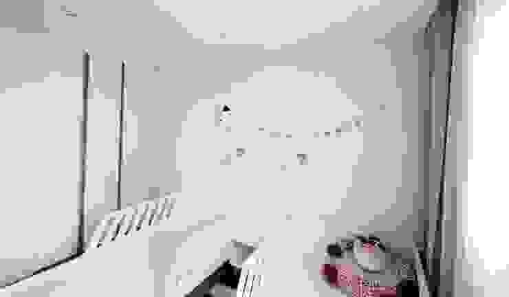 [홈라떼] 김포 34평 새아파트 민트 하우스 홈스타일링 스칸디나비아 아이방 by homelatte 북유럽
