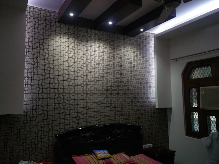 Malhotra's Residency Modern Walls and Floors by Fabros Interiors Modern MDF