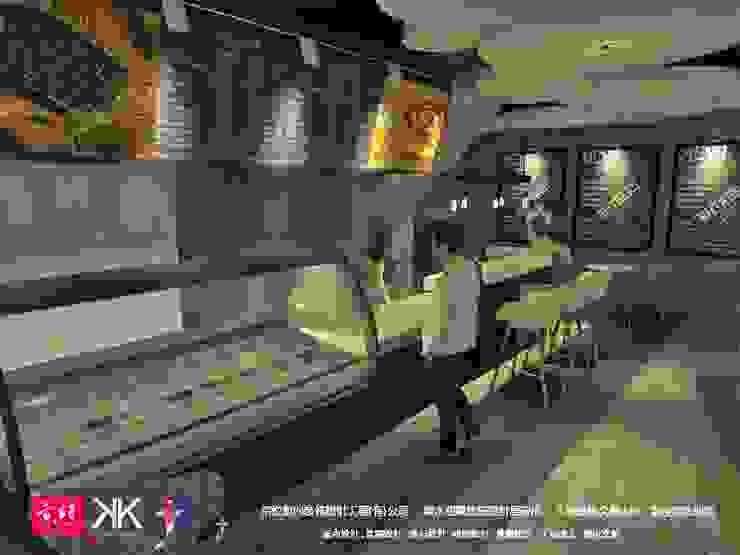 Victor  Ice cream & cafe: 產業  by 京悅室內裝修設計工程(有)公司|真水空間建築設計居研所, 工業風