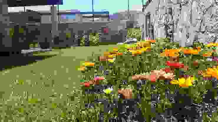 Garden by SCH2laap arquitectura + paisajismo