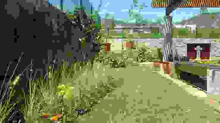 Jardins modernos por SCH2laap arquitectura + paisajismo Moderno