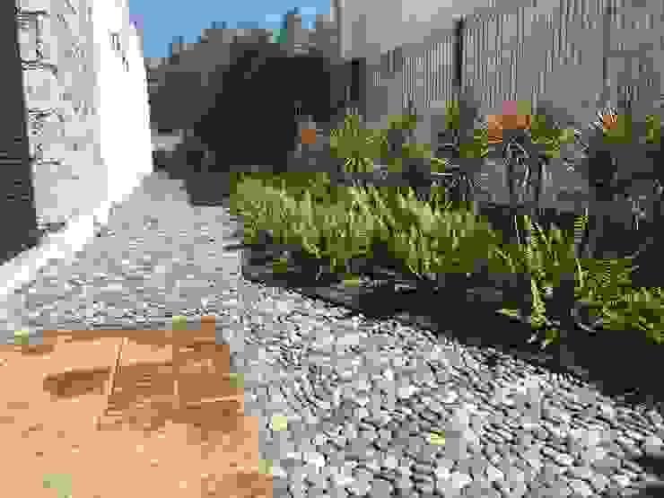 Jardines de estilo  por SCH2laap arquitectura + paisajismo,