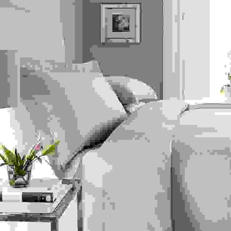 New York Egyptian Cotton Sateen Bed Linen King of Cotton DormitoriosTextiles Algodón Blanco