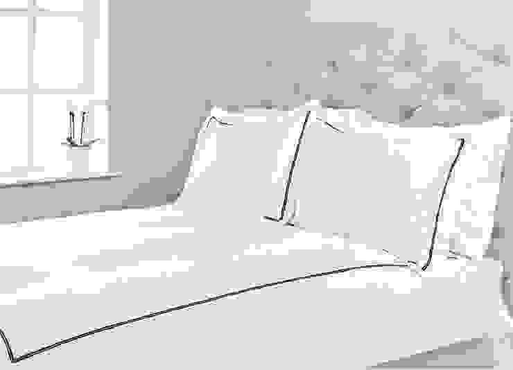 Capri Fairtrade Organic Cotton Sateen Duvet Cover Set King of Cotton DormitoriosTextiles Algodón Blanco