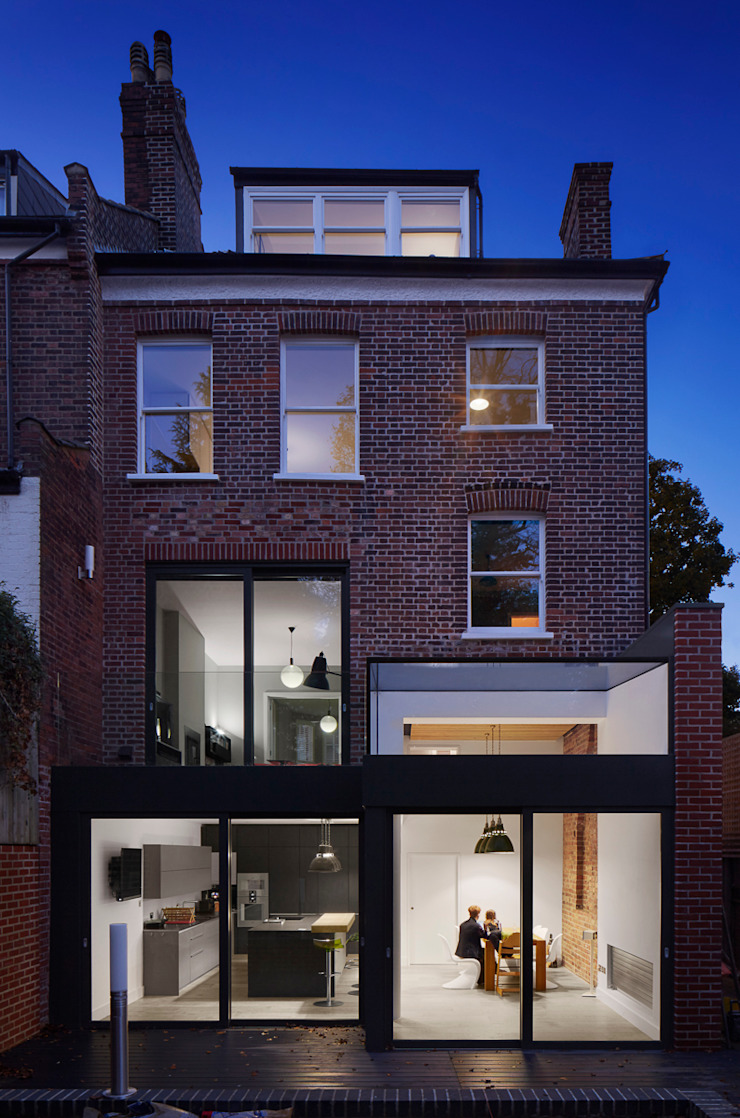Church Crescent Andrew Mulroy Architects Modern Houses
