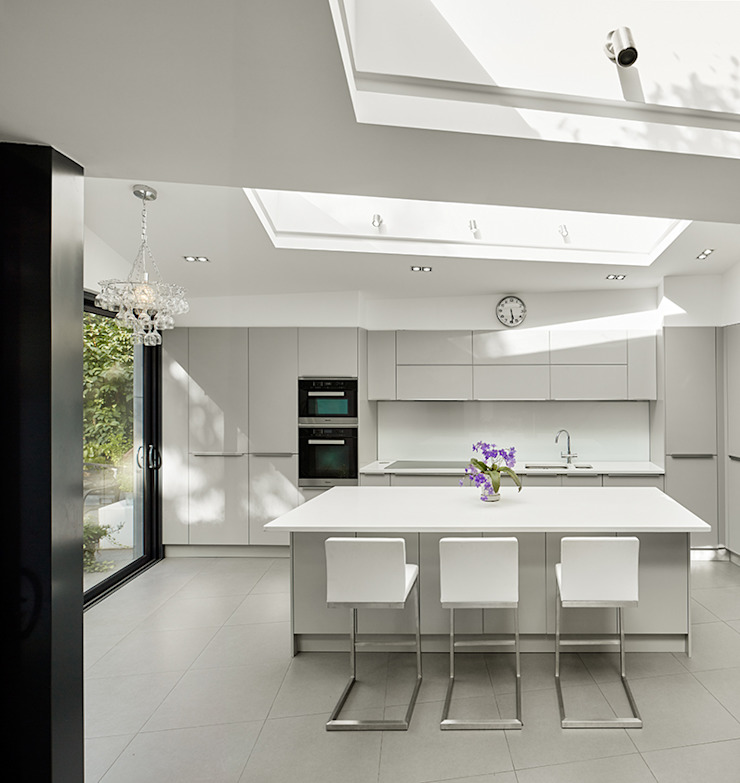 Wood Lane Kitchen Andrew Mulroy Architects Modern Kitchen