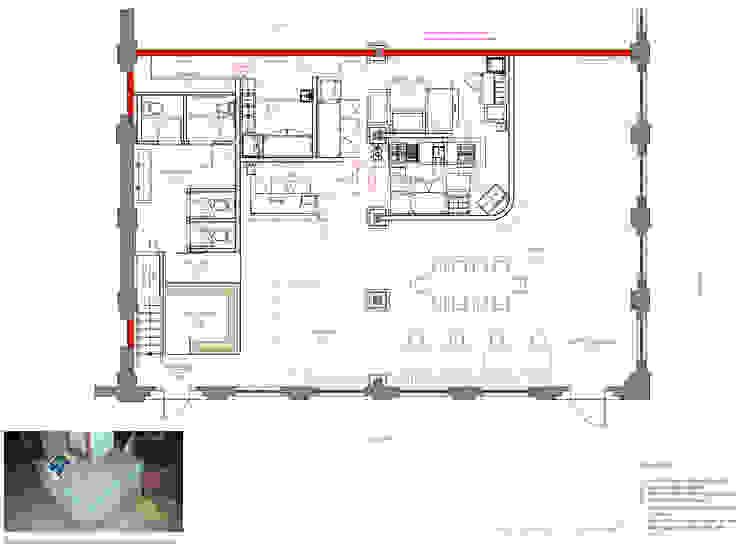 Plans, 511 Paladar, First Floor: eclectic  by studioWTA, Eclectic