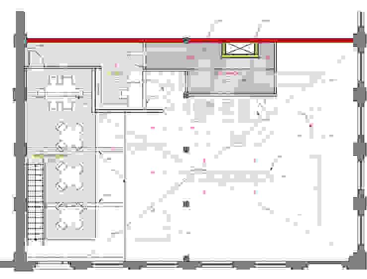 Plans, 511 Paladar, Mezzanine Level: eclectic  by studioWTA, Eclectic