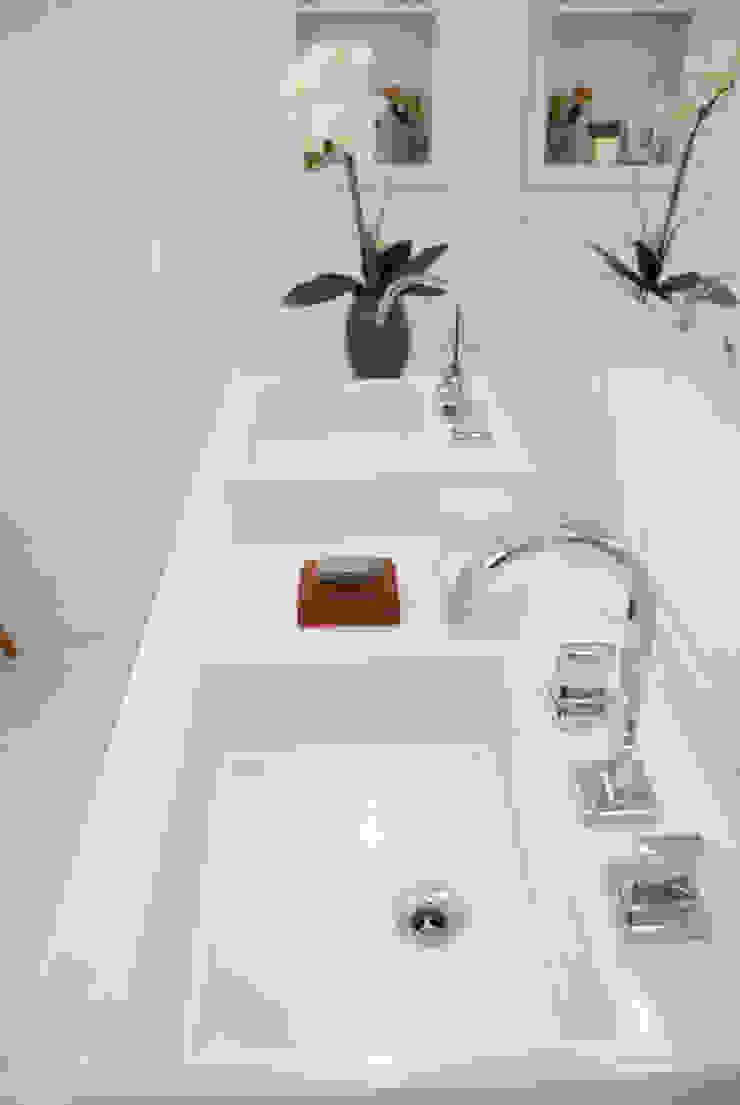Move Móvel Criação de Mobiliário BathroomSinks Quartz White