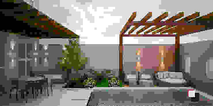 Piscinas de estilo moderno de SCK Arquitetos Moderno