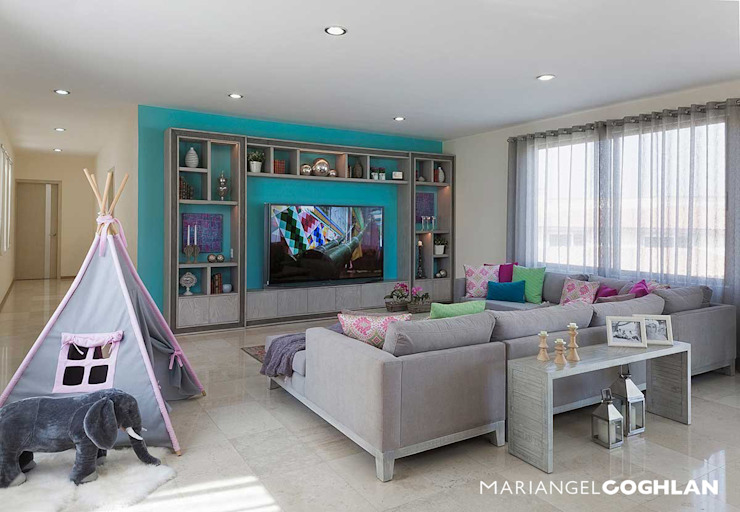 Living room by MARIANGEL COGHLAN,