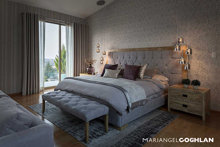 Modern Bedroom by MARIANGEL COGHLAN Modern