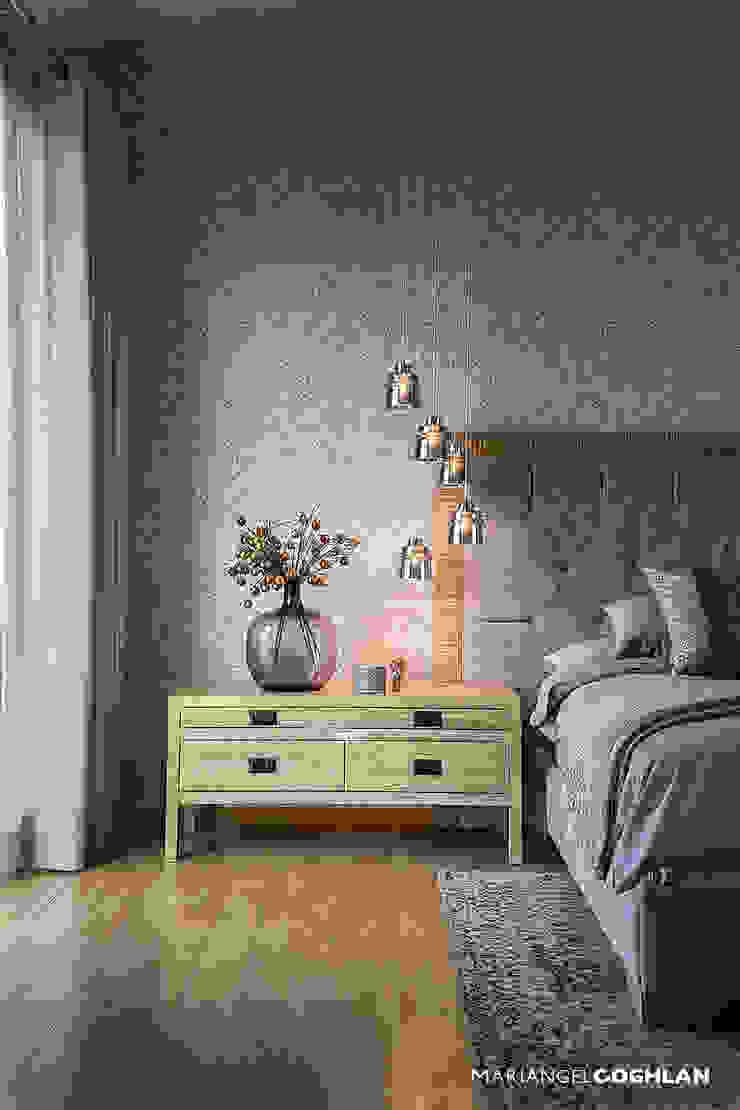 Proyecto Almendros Moderne Schlafzimmer von MARIANGEL COGHLAN Modern