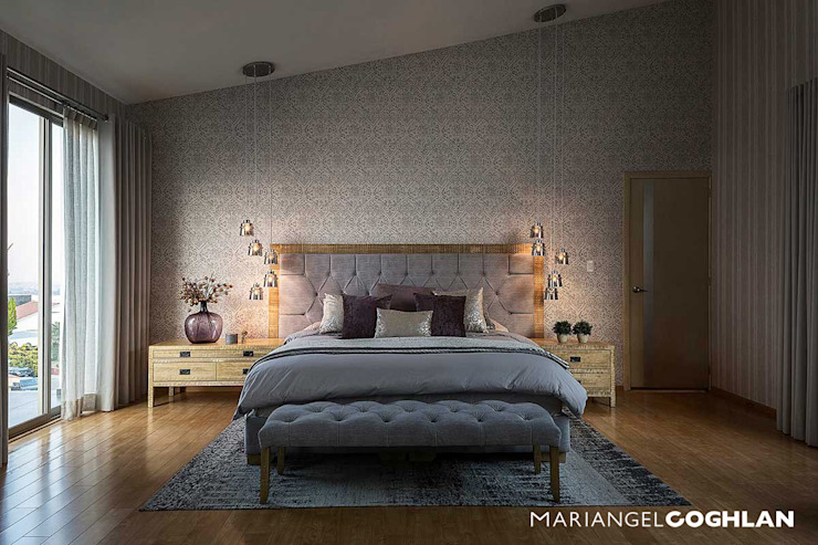 Dormitorios de estilo moderno de MARIANGEL COGHLAN Moderno