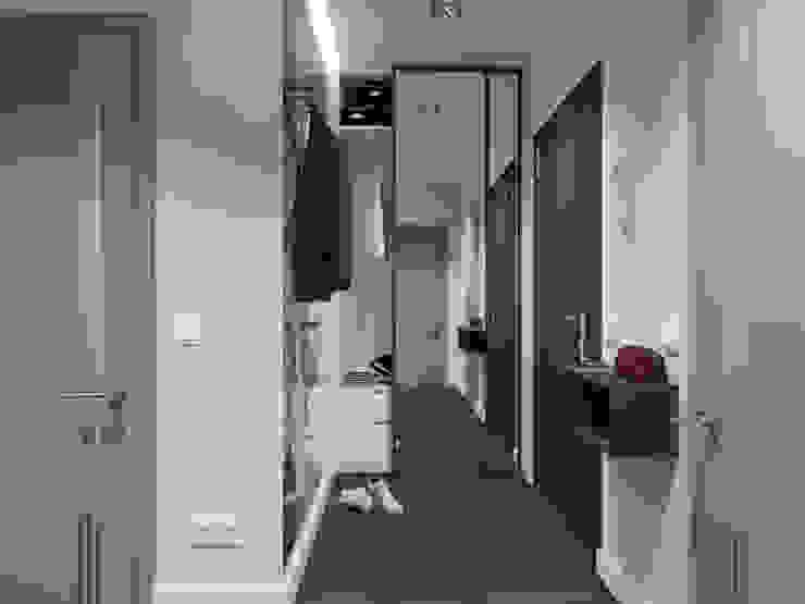 Corredores, halls e escadas modernos por SO INTERIORS ARCHITEKTURA WNĘTRZ Moderno