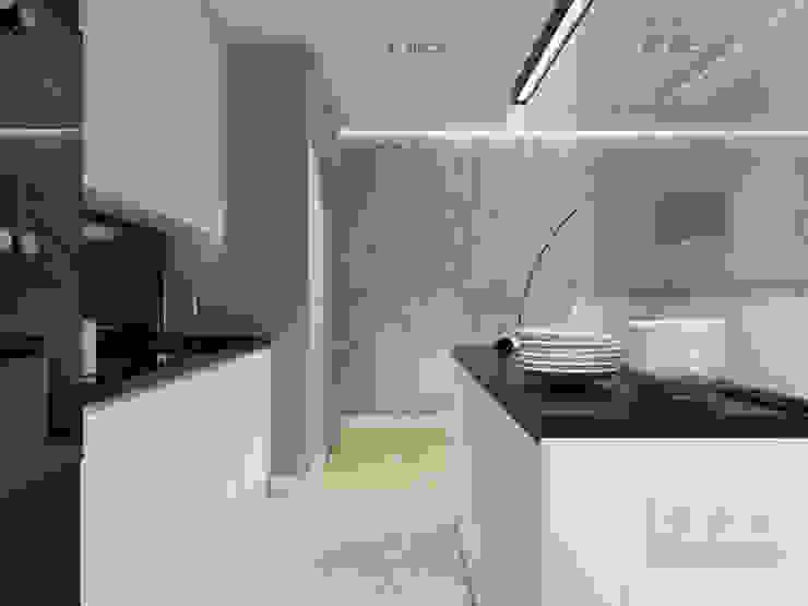 Cozinhas modernas por SO INTERIORS ARCHITEKTURA WNĘTRZ Moderno