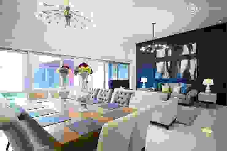 A856 UV Arquitectos Salones modernos