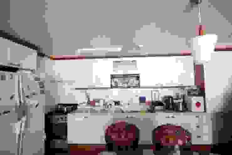 [홈라떼] 인천 32평 오래된 빌라, 모던한 홈스타일링 모던스타일 주방 by homelatte 모던