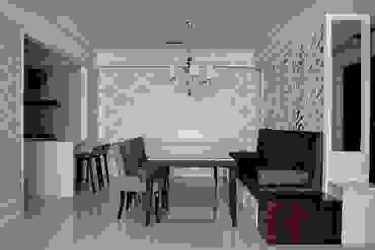 現代英倫風: 經典  by 誼軒室內裝修設計有限公司, 古典風
