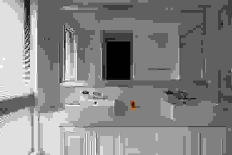 現代英倫風 根據 誼軒室內裝修設計有限公司 古典風 磁磚