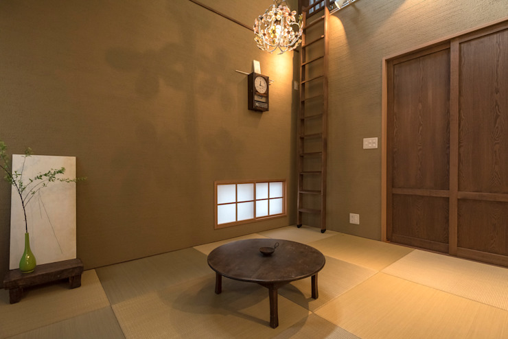 Media room by HAPTIC HOUSE, Asian Wood Wood effect