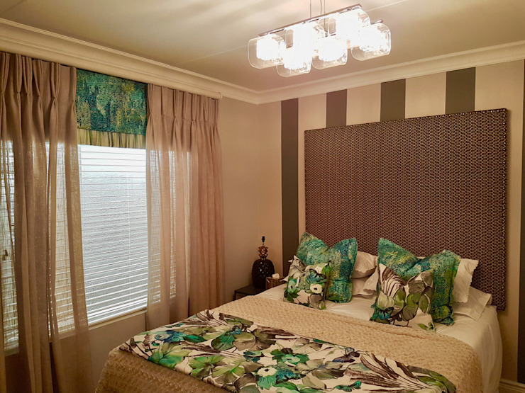 Smaller Bedrooms Colonial style bedroom by Carne Interiors Colonial
