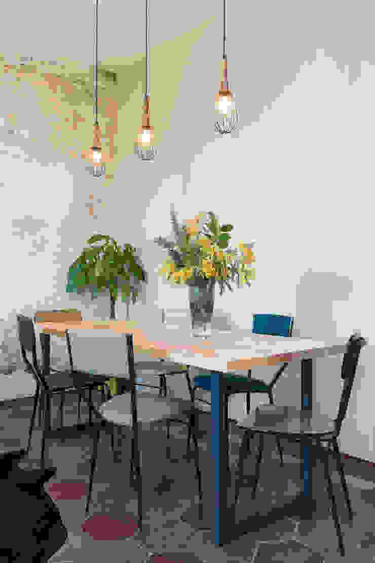 Caterina Raddi Industrial style dining room