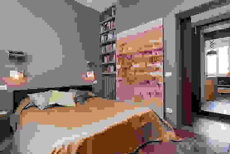 Caterina Raddi Industrial style bedroom
