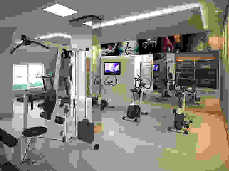 Híbrida Arquitetura, Engenharia e Construção Gym