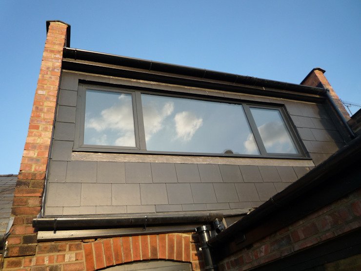 Loft extension Modern Windows and Doors by A2studio Modern