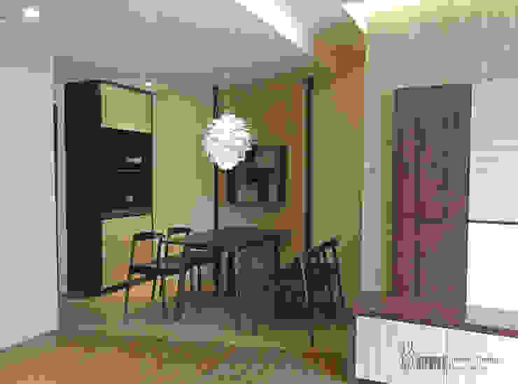 餐廳 根據 以恩室內裝修設計工程有限公司 現代風