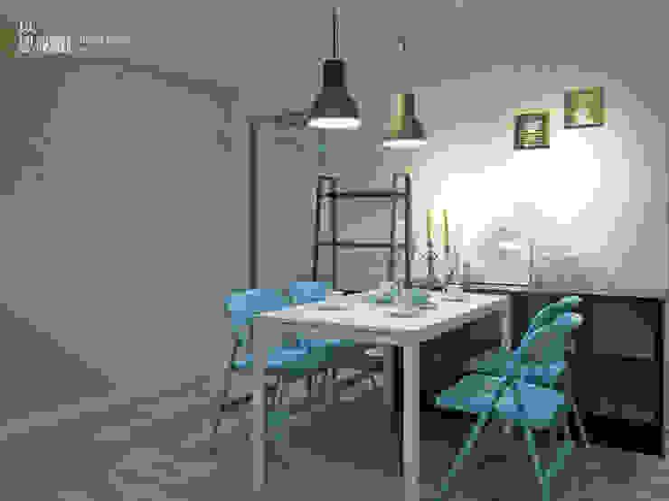 餐廳 Scandinavian style dining room by 以恩設計 Scandinavian